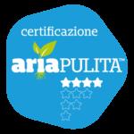 Logo certification Aria Pulita